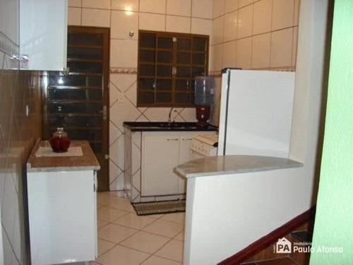 Casa Com 3 Dormitórios À Venda, 96 M² Por R$ 315.000,00 - Loteamento Residencial Santa Clara Ii - Poços De Caldas/mg - Ca0109