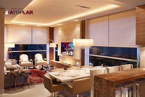 Apartamento À Venda, 123 M² Por R$ 1.928.951,26 - Centro - Balneário Camboriú/sc - Ap1538