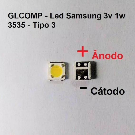 Led Smd Tv Samsung Original 3v 1w 3535 S. Fh 200 Pçs Carta