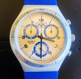 Relógio Swatch Irony Chrono Ycs1009 Ag 2004 - Perfeito