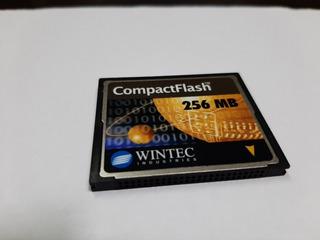 Cartão De Memoria Compact Flash 256mb
