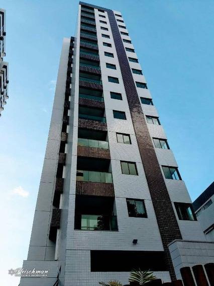 Apartamento Residencial À Venda, Espinheiro, Recife. - Ap0683