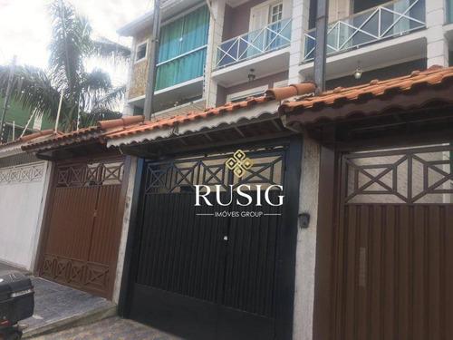 Sobrado Com 2 Dormitórios À Venda, 130 M² - Vila Carmosina - São Paulo/sp - So0972