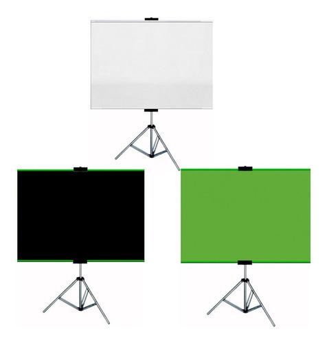 Tela Home Office Chroma Key/preto/branco Zoom Green