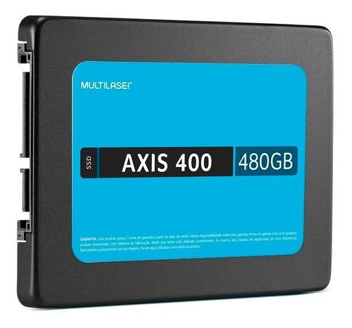 Disco sólido interno Multilaser AXIS 400 SS401 480GB preto