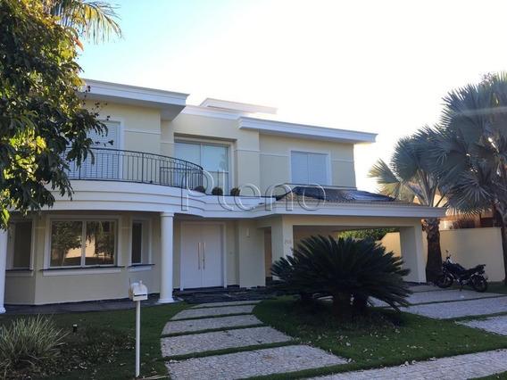 Casa Para Aluguel Em Loteamento Alphaville Campinas - Ca014595