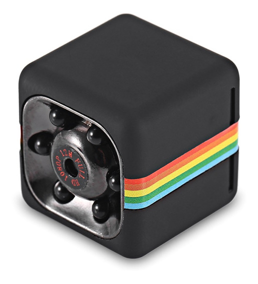 Quelima Mini Cámara Oculta Dvr Sq11 1080p Hd Para Auto