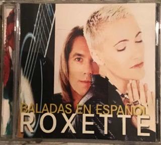 Cd Roxette Baladas En Español Original 6v