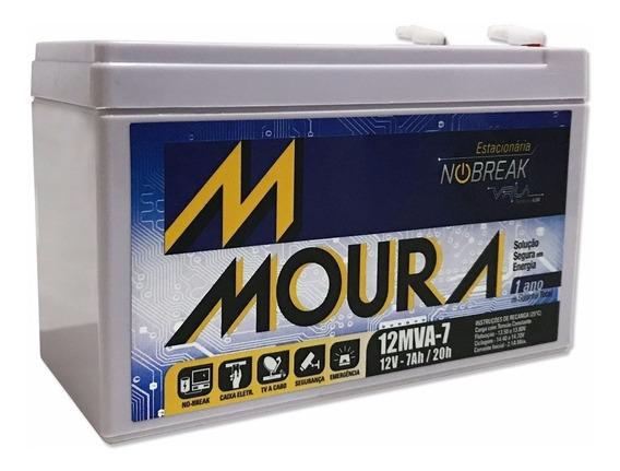 Bateria Moura Estacionária 12v 7a Vrla P/ No-break - Oferta
