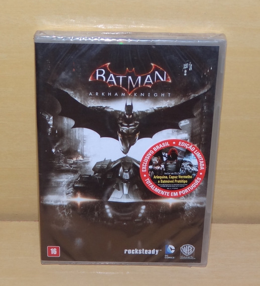 Batman - Arkham Knight - Lacrado - Pc