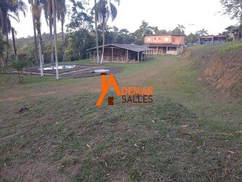 Imagem 1 de 30 de Chácara 11.000 M² Juquitiba/sp - 100% Aproveitável - Ch00110