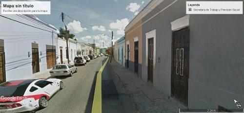 Terreno 1,063 M2, Ideal Para Hotel O Airbnb, 68 Street Centro Histórico Mérida