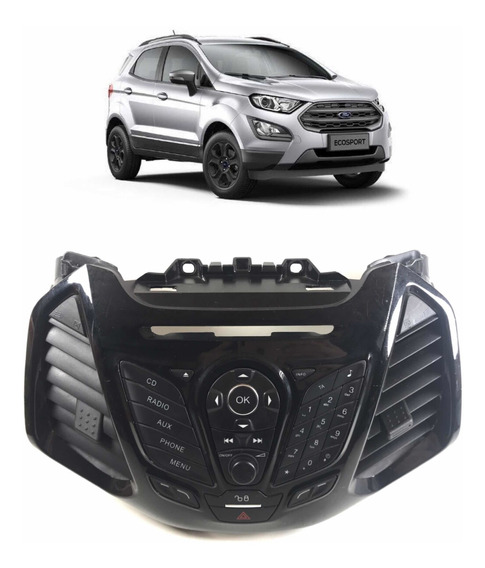 Comando Rádio Teclado Ford Ecosport Original Bm5t18k811ba