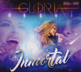 Inmortal - Gloria Trevi - 2 Discos Cd + Dvd - Nuevo
