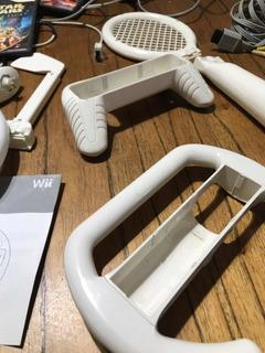Nintendo Wii + Accesorios+ 2 Juegos