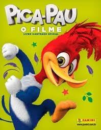 Álbum Pica Pau - O Filme + 75 Figurinhas Soltas E Sem Repeti