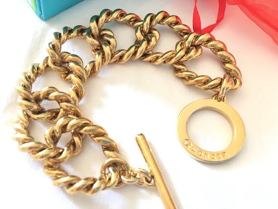 Pulseira Banhada A Ouro 18k Wonder Luxo Importada Usa