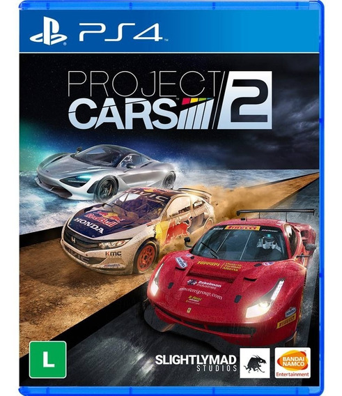 Project Cars 2 - Ps4 Cod 1 Pt-br Envio Já