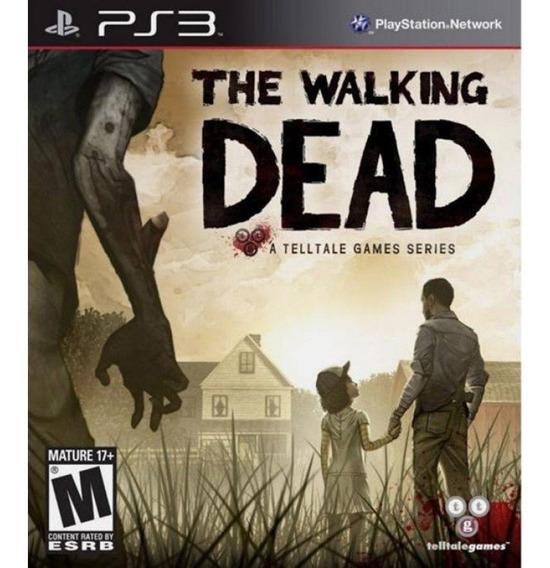 The Walking Dead 1ª Temporada Telltale - Ps3 - Instale Já