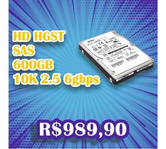 Hd Sas 600gb 10k 2.5 6g Hgst Pn 0b26085 Huc109060css600