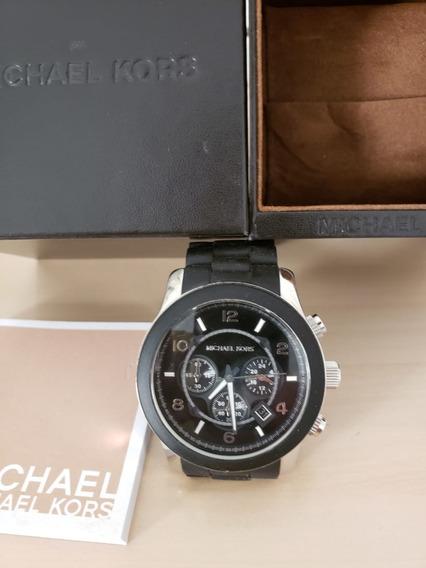 Relógio Masc Michael Kors Cronográfico Original Seminovo