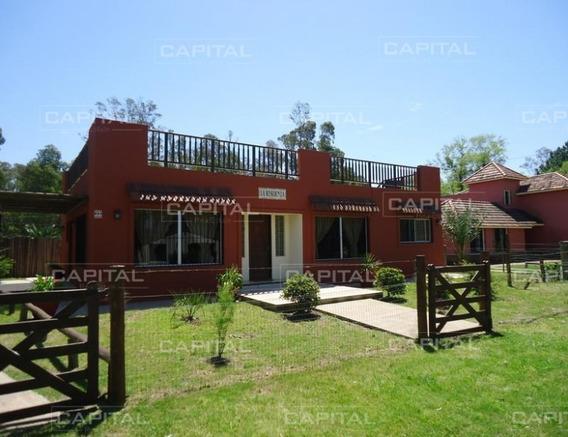 Casa De Tres Dormitorios En Alquiler Anual- Ref: 25470