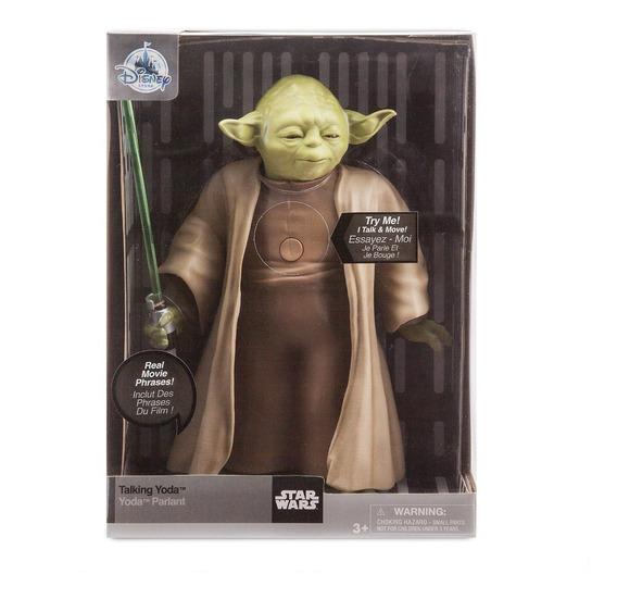 Boneco Yoda Star Wars Emite Som E Movimentos Disney