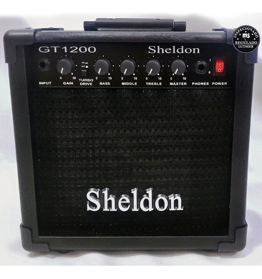 Amplificador Guitarra Sheldon Gt1200 15w Promoção!