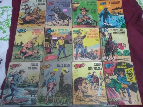 Lote Com 12 Revistas Tex