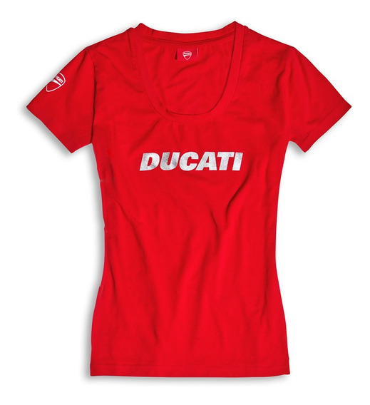 Camiseta Feminina Ducatiana Red - Ducati