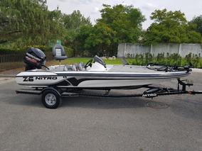 Nitro Z6 Bassboat Modelo 2015 Lobinera Lista Para Pescar!