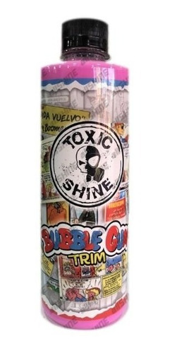 Imagen 1 de 3 de Bubble Gum Trim Acondicionador De Interior Toxic Shine 600cc