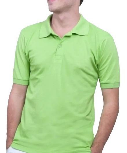 Camisa Polo Masculina Original Atacado Lisa Revenda Clássica