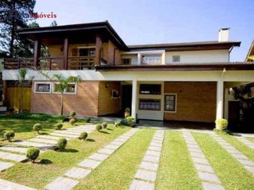 Casa Com 4 Dormitórios À Venda, 600 M² Por R$ 1.700.000,00 - Aldeia Da Serra - Barueri/sp - Ca0069