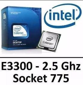Processador Intel 775 Pentium Dual-core E3300 2.5ghz