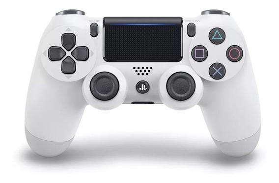 Controle Playstation Dualshock 4 Branco Original - Ps4
