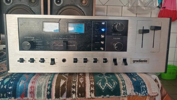 Amplificador Gradiente Pro1200