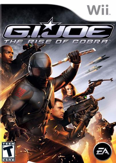Jogo Lacrado G.i. Joe The Rise Of Cobra Para Nintendo Wii