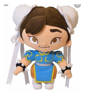 Muñeca De Peluche Chun Li