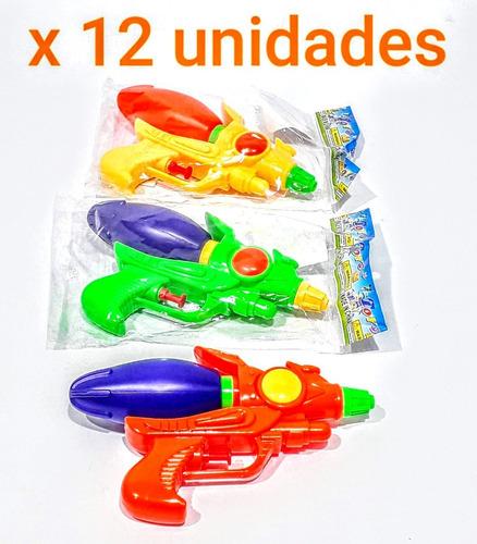 Pistola De Agua Plástica X12 Mayorista Juguete Pacho's