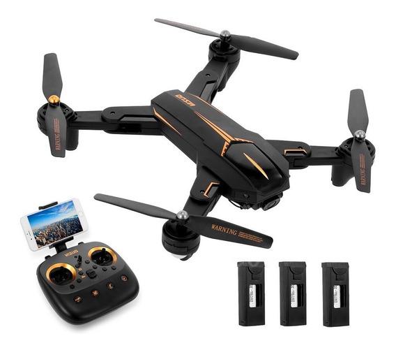 Drone Visuo Xs812 5mp Gps 3 Baterias Wi-fi Lançamento 2019