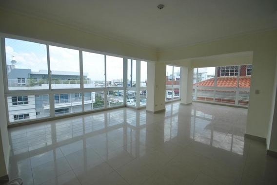 Amplio Penthouse En Alquiler 3hab Vista Al Mar Mirador Norte