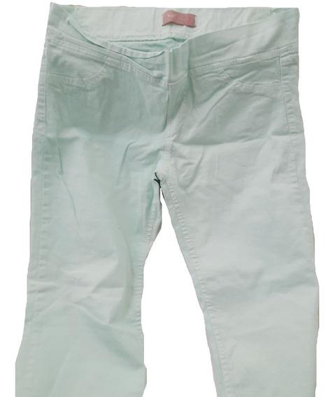 Pantalon Estilo Calza!! Nuevo Sin Etiqueta! Con Falla. (432)