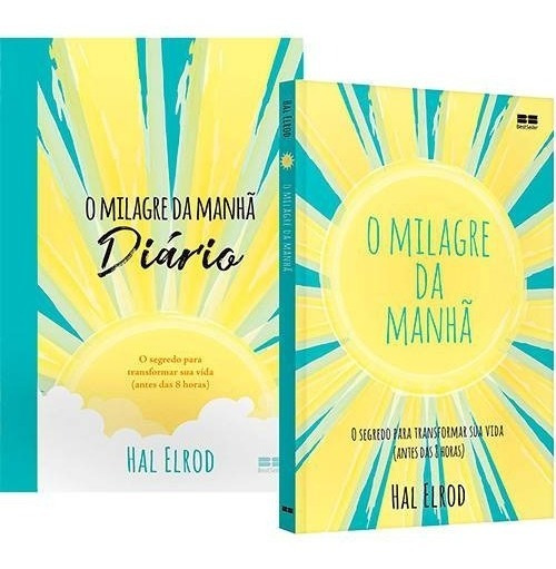 Livros - O Milagre Da Manhã + O Milagre Da Manhã Diário