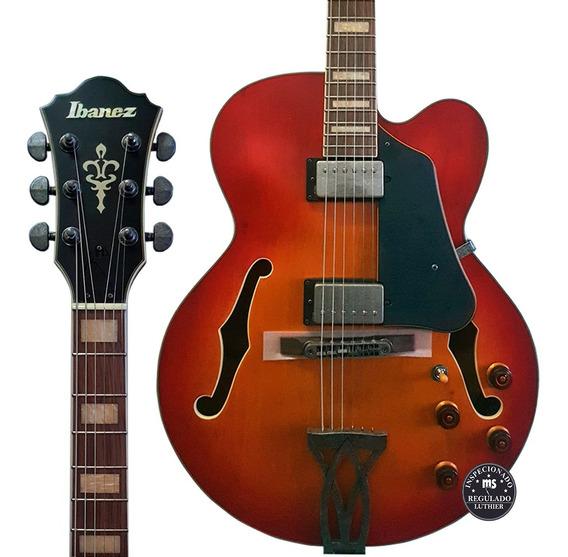 Guitarra Semi Acústica Ibanez Afv75 Vintage Amber Burst Low Gloss Promoção!