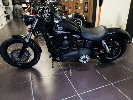 Harley Davidson Street Bob 2014 Customizada Te Encantara