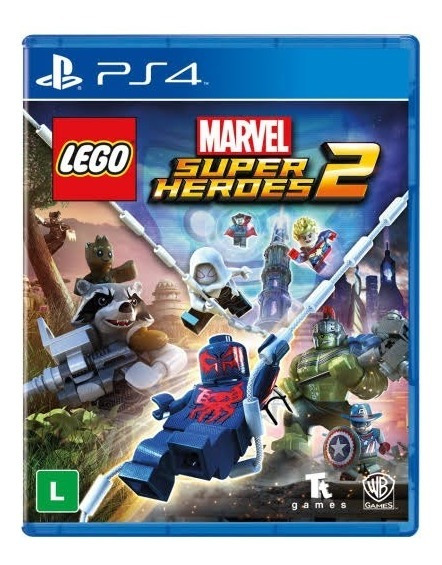 Lego Marvel Super Heroes 2 Ps4 Original 2 Por 10 Dias