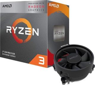 Amd Ryzen 3 3200g Vega 8 Graphics 2nd Gen Procesador Radeon