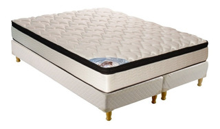 Sommier Inducol Pocket Firm Super queen 200x160cm blanco