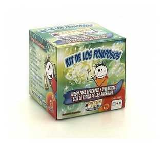 Juego Ciencia Kit De Los Pomposos Burbujas Experimentos Ck